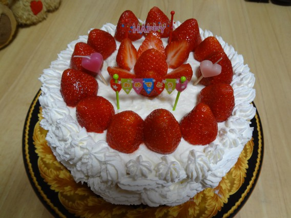 久しぶりの手作りケーキ♡&「ベルジュお菓子の木」
