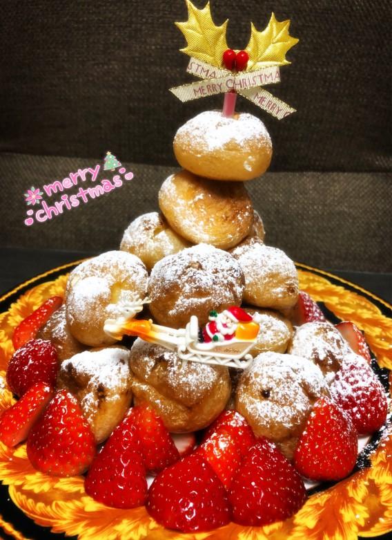 手作りクリスマスケーキ♡2020